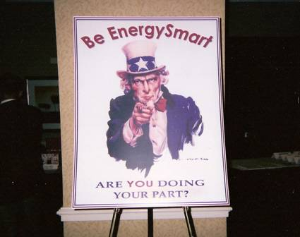 Uncle Sam - Be Energy Smart